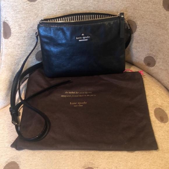 Kate Spade Handbags - Kate Spade Black Leather bag
